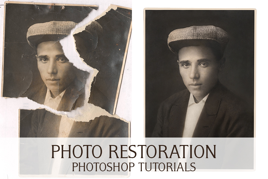 Photo Restoration Photoshop Tutorials